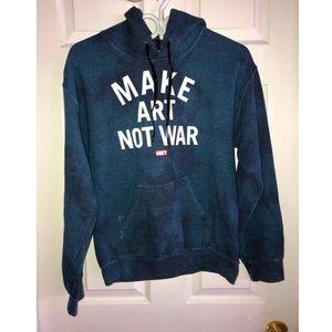 Obey tie dye hoodie